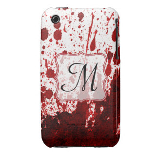 Vampire Blood Dripping Monogram IPHONE 3 Cell Case