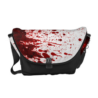 Vampire Blood Dripping Pool Crimson Bag Tote Purse Courier Bag