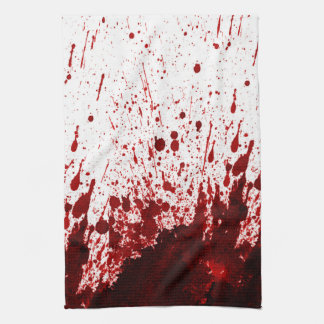 Vampire Blood Dripping Pool Kitchen Dish Towel