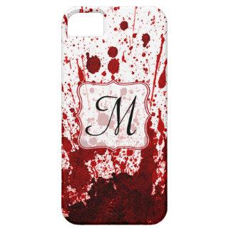 Vampire Blood Dripping Pool Monogram IPHONE 5 Case