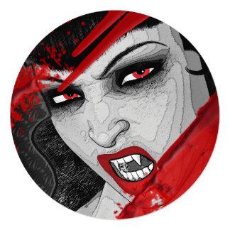 Vampire blood night   PERSONALIZE Invitation