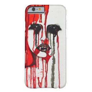 Vampire blood painting iPhone case