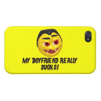 Vampire Boyfriend Sucks Cover For iPhone 4