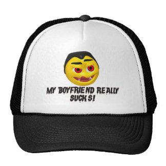 Vampire Boyfriend Sucks Trucker Hat