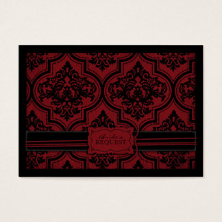 Vampire Bride Business Card