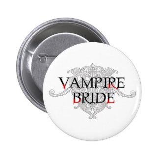 Vampire Bride Button