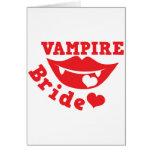 vampire bride card