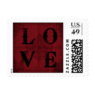 Vampire Bride LOVE Stamp