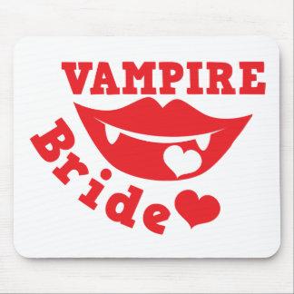 vampire bride mouse pad
