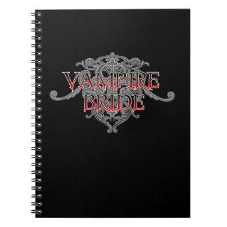 Vampire Bride Notebook