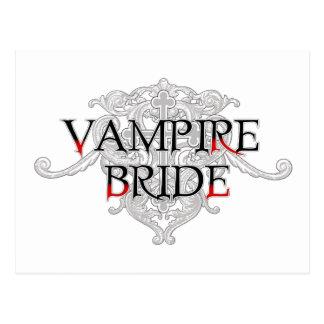 Vampire Bride Postcard