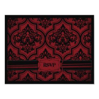 Vampire Bride RSVP Card A