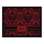 Vampire Bride RSVP Card A Personalized Invitation