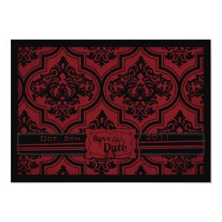 Vampire Bride SD Card Invitation