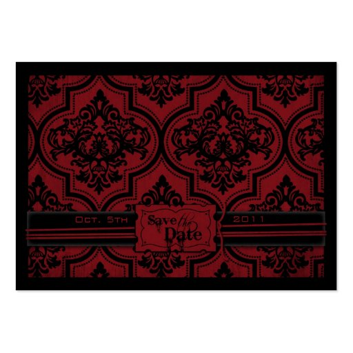 Vampire Bride SD Notecard Large Business Cards (Pack Of 100)