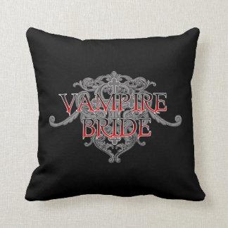 Vampire Bride Throw Pillow