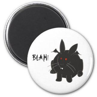 Vampire Bunneh 2 Inch Round Magnet