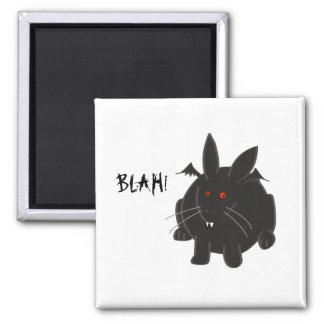 Vampire Bunneh 2 Inch Square Magnet