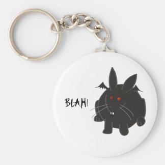 Vampire Bunneh Basic Round Button Keychain