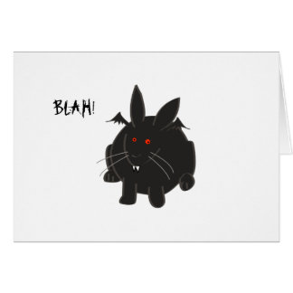 Vampire Bunneh Card