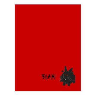 Vampire Bunneh Postcard