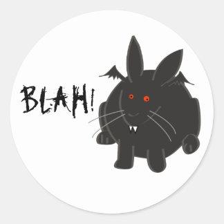 Vampire Bunneh Classic Round Sticker