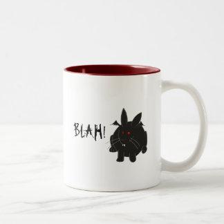 Vampire Bunneh Two-Tone Coffee Mug