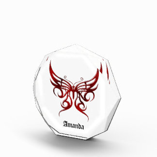 Vampire Butterfly Personalized Goth Award