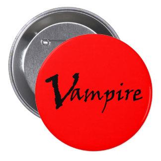 Vampire 3 Inch Round Button