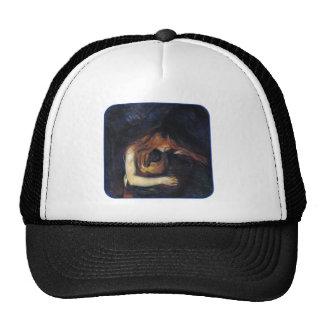 Vampire by Edvard Munch Mesh Hat