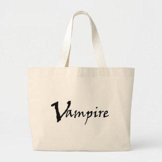 Vampire Canvas Bags