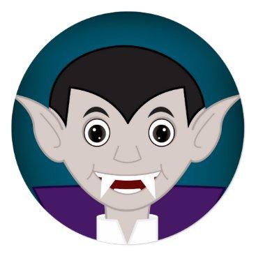 Halloween Themed Vampire Card
