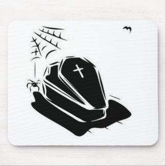 Vampire Casket Mouse Pads