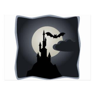 Vampire Castle Postcard