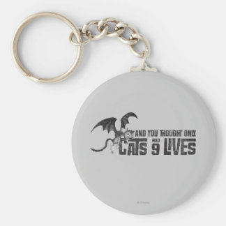 Vampire Cat: And You Thought Only Cats Had 9 Lives Keychain