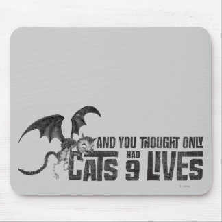 Vampire Cat: And You Thought Only Cats Had 9 Lives Mouse Pads