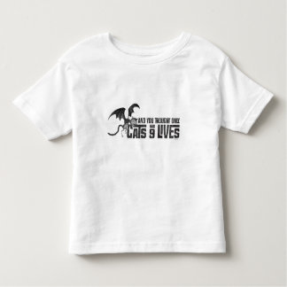 Vampire Cat: And You Thought Only Cats Had 9 Lives Toddler T-shirt