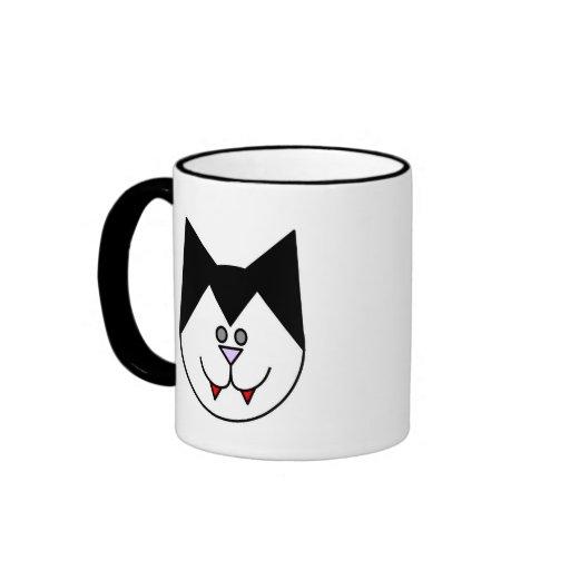 Vampire Cat Coffee Mug
