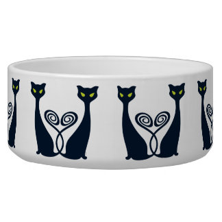 Vampire Cat Duo Bowl