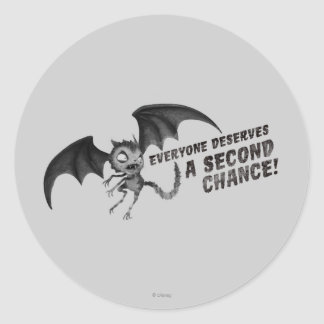 Vampire Cat: Everyone Deserves a Second Chance Classic Round Sticker