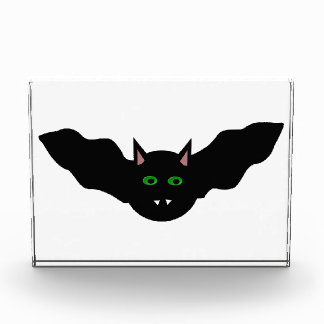 Vampire Cat Faced Bat Halloween Decoration Award