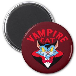 Vampire Cat Magnet
