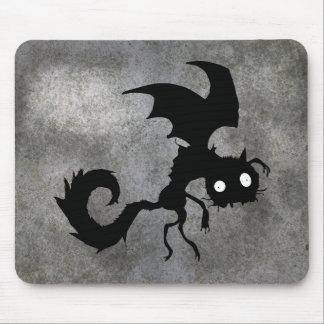 Vampire Cat Silhouette Mousepad