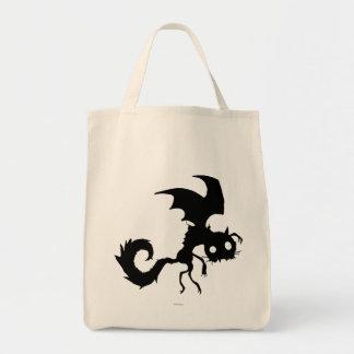Vampire Cat Silhouette Tote Bag