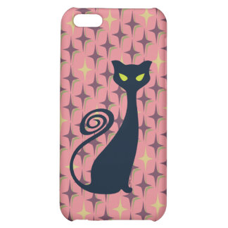 Vampire Cat With Green Eyes Case For iPhone 5C