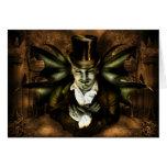 Vampire Cemetery Greeting Card