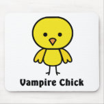 Vampire Chick Mouse Pad