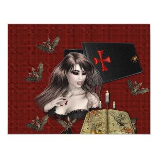 Vampire Collage Card