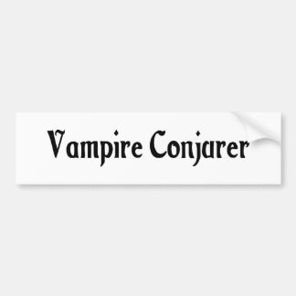 Vampire Conjurer Bumper Sticker