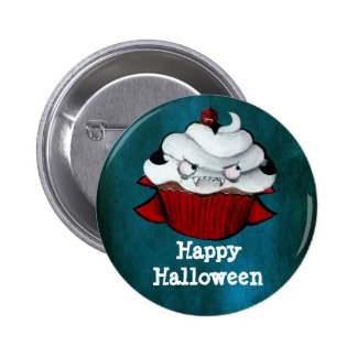 Vampire Count Cupcake Button